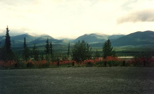 Die Kluane Mountains